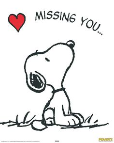 snoopy miss you